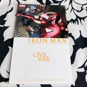 5 for $25| Marvel Civil War Iron Man (2007, TPB)